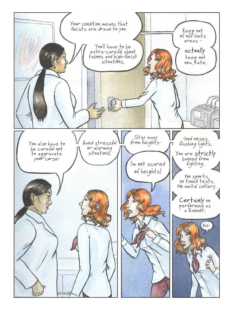 Geist! Comic page 3