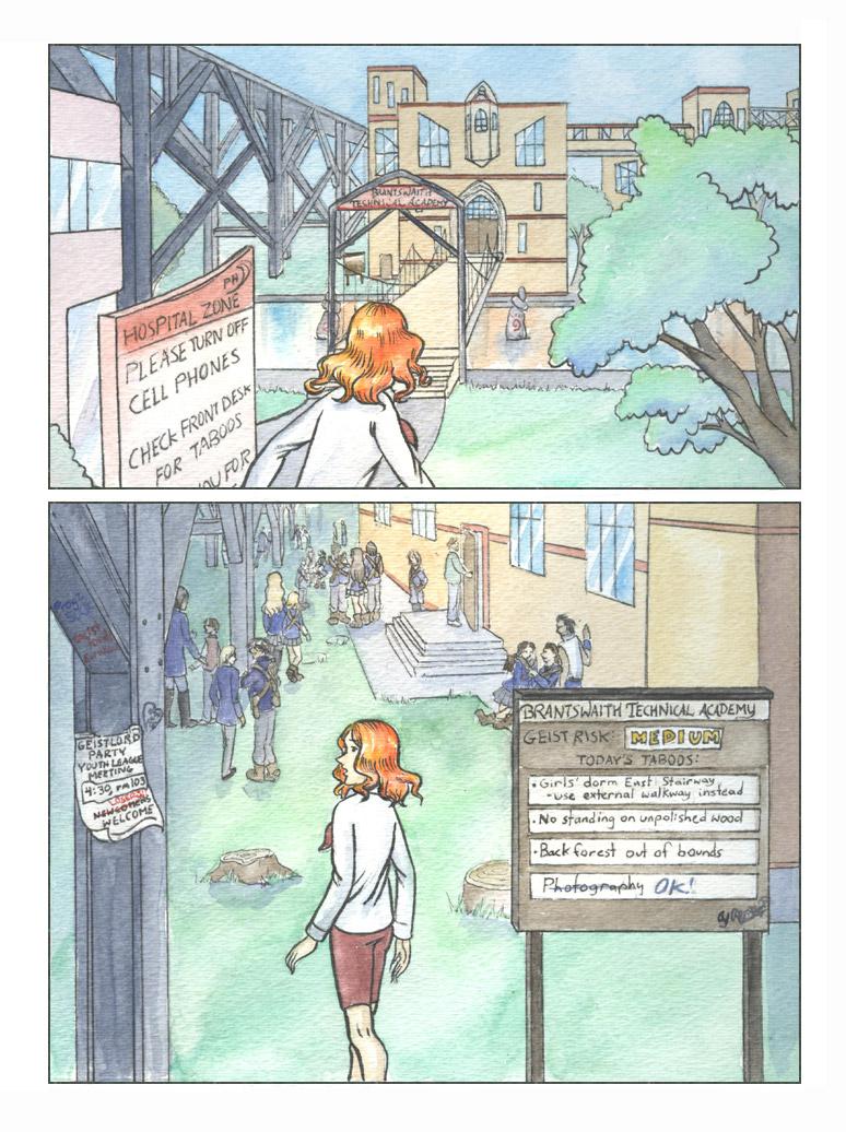 Geist! Comic page 6