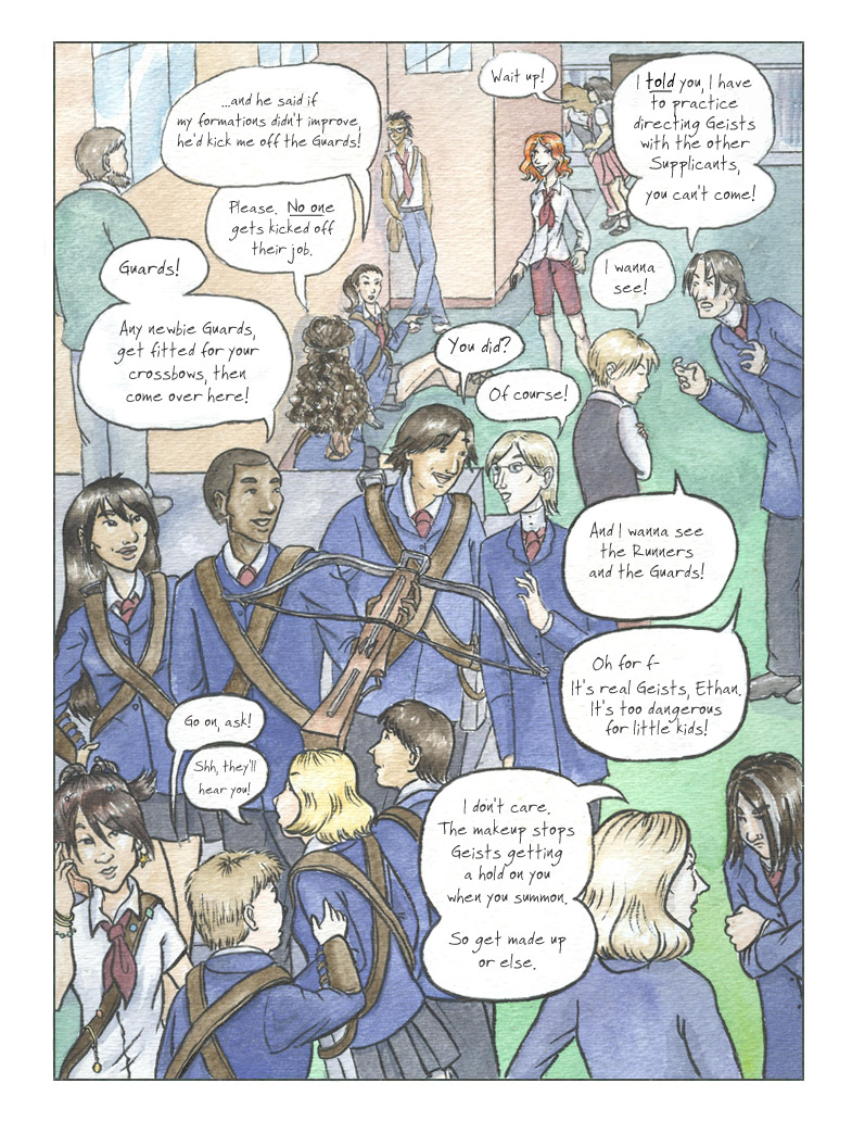 Geist! Comic page 7