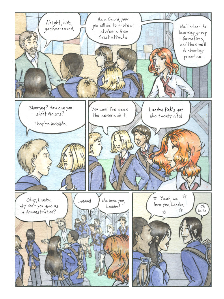 Geist! Comic page 8