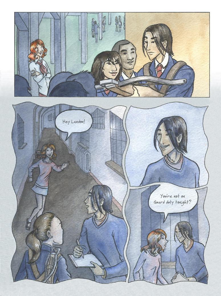 Geist! Comic page 9