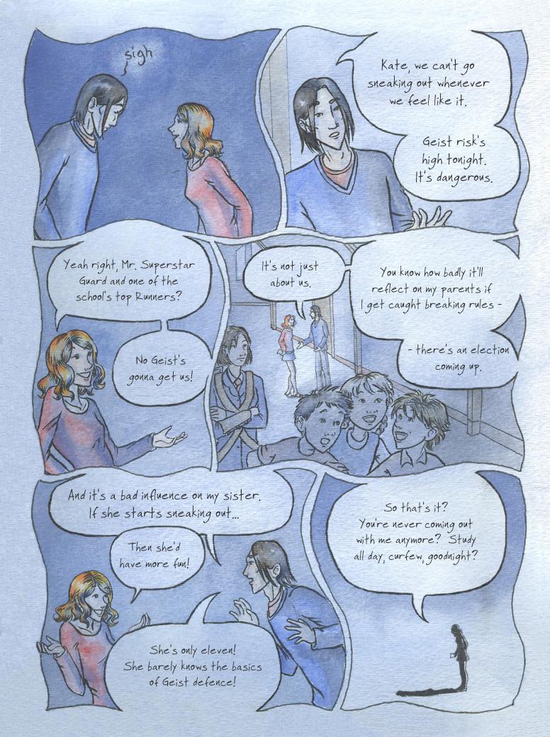 Geist! Comic page 12