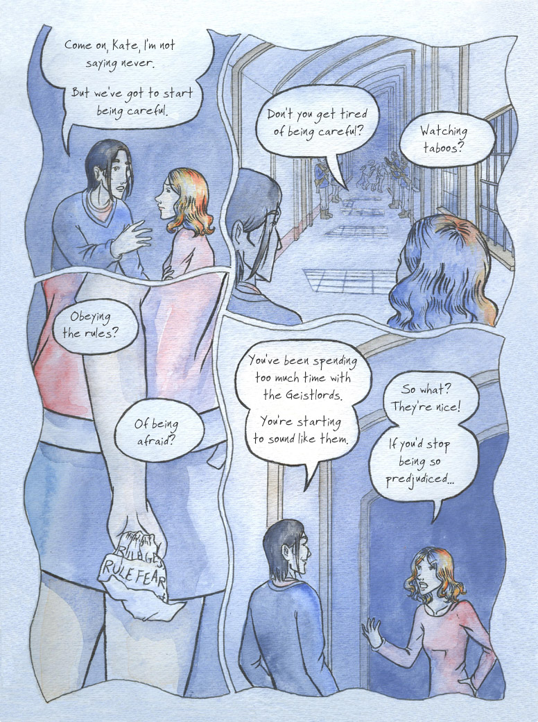 Geist! Comic page 13