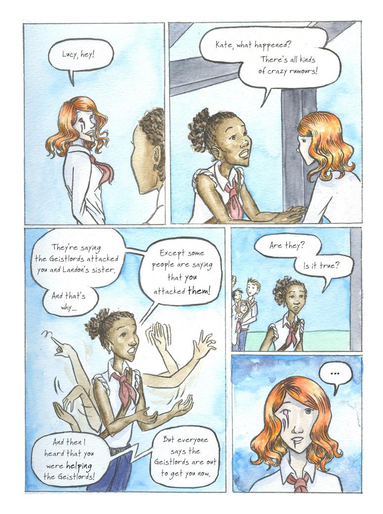 Geist! Comic page 18