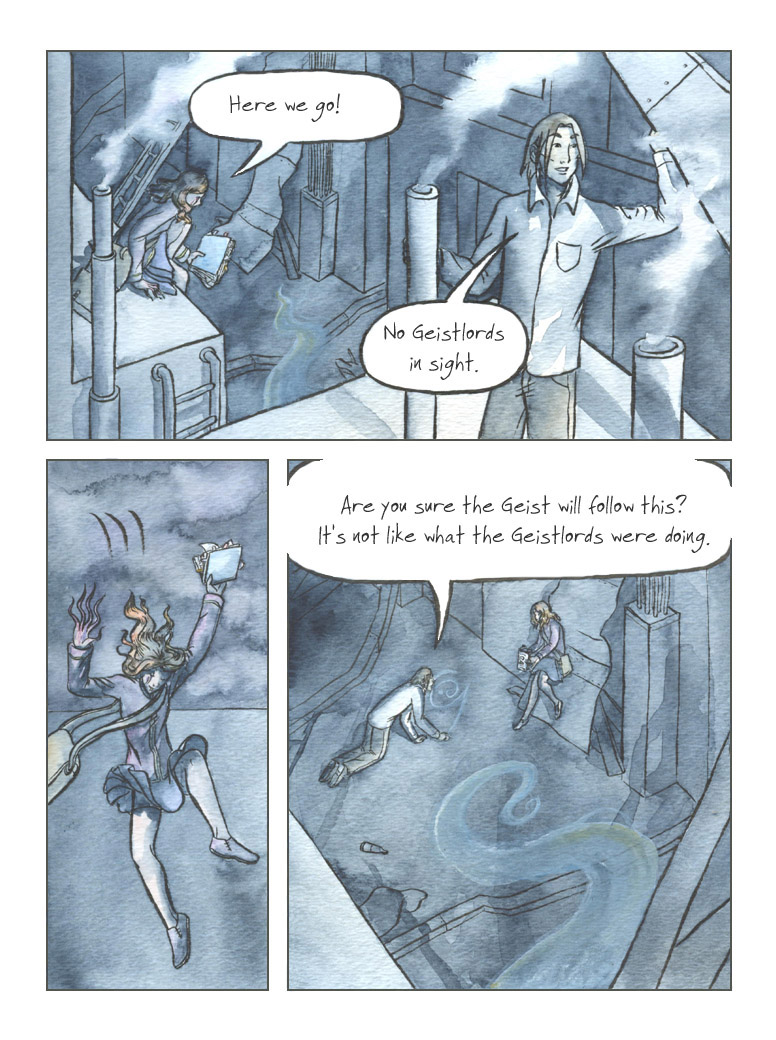 Geist! Comic page 137